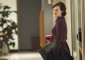 Peggy Olson (Elisabeth Moss) stars in 'Mad Men.'
