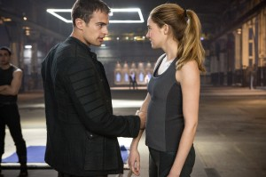Theo James and Shailene Woodley star in 'Divergent.'