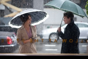 Brian (Anton Yelchin) begins a romance with married Arielle (Berenice Marlohe) in the drama '5 to 7.'