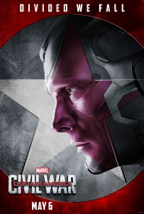 Paul Bettany returns as The Vision in 'Captain America: Civil War.'