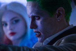 "(L-r) MARGOT ROBBIE as Harley Quinn and JARED LETO as The Joker in Warner Bros. Pictures' action adventure ""SUICIDE SQUAD,"" a Warner Bros. Pictures release."
