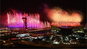 Opening Ceremonies at London's Olympic Stadium