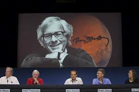 NASA officials honor Ray Bradbury.