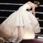 Jennifer Lawrence Oscars Tumble.
