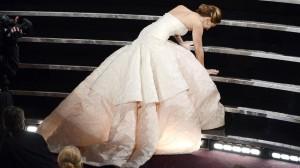 Jennifer Lawrence Oscars Tumble.