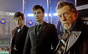 Matt Smith (left), David Tennant and John Hurt headline the 50th Anniversary 'Doctor Who' special 'The Day of the Doctor.'