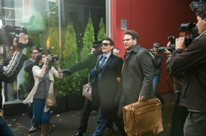 Dave (James Franco) and Aaron (Seth Rogen) in Columbia Pictures' THE INTERVIEW.