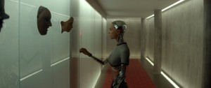 Alicia Vikander stars in 'Ex Machina.'