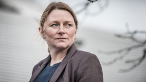 Rosie Cavaliero plays DS Susan Reinhardt, a workaholic detective dealing with past demons in the BBC America police drama 'Prey.""