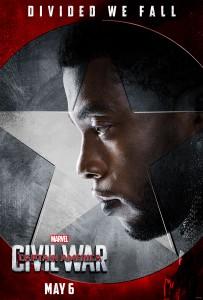 Chadwick Boseman plays Black Panther in 'Captain America: Civil War.'
