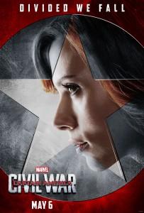Scarlett Johansson returns as Black Widow in 'Captain America: Civil War.'